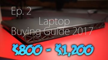 Top 10 Reasons Why You Should Buying Gaming Laptops Above $800