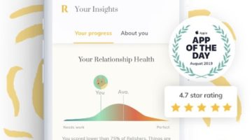 Meet Relish. A Convenient Couples Therapy App for Today's Relationships