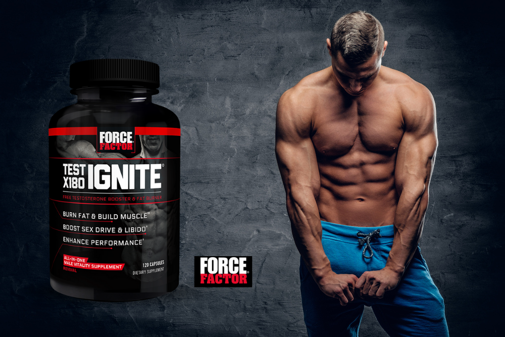 Testosterone booster from Force Factor, Test X180 Ignite